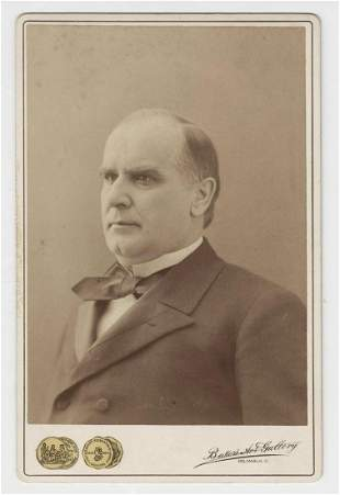 William McKinley Cabinet photo Ca 1899 Ex Forbes
