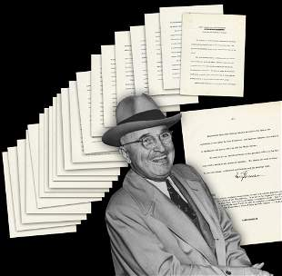 Truman 21pp Signed Article on the Presidency Evoking