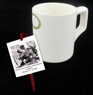 Kennedy Owned Vintage Stoneware Tea Mug
