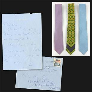 Jackie Kennedy ALS Mentioning Ties, Along with 3 of
