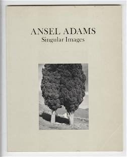 "Ansel Adams Signed ""Singular Images"""