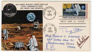 Apollo XI Signed by Armstrong, Aldrin & Collins,