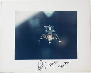 Apollo 11 Armstrong, Aldrin, and Collins Signed Eagle
