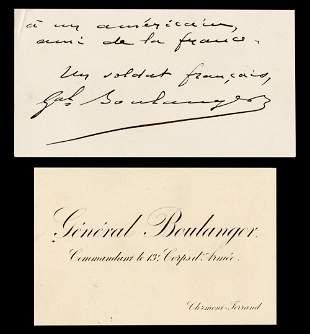 General Boulanger aka General Revenge Cards