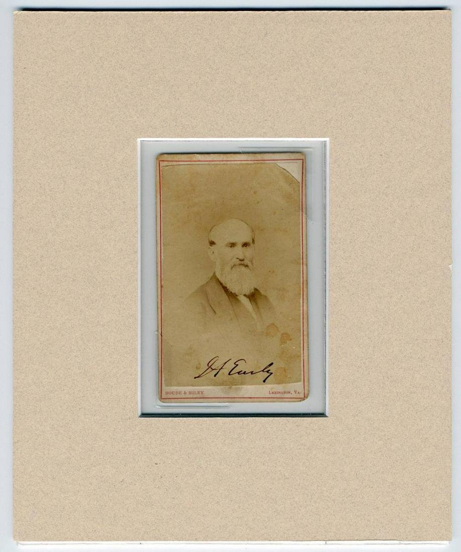 Jubal Early Signed CDV