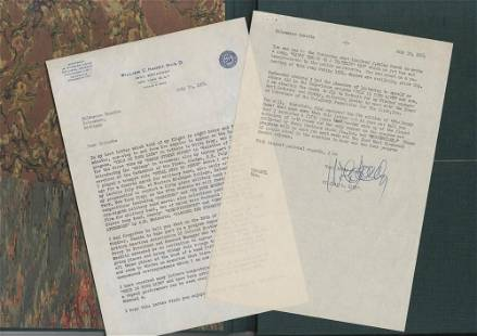 Important William Handy Letter Boldly Signed