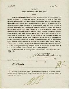 James Walter Thompson Advertising King Document