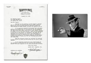 Humphrey Bogart Signed Deal Re: Maltese Falcon