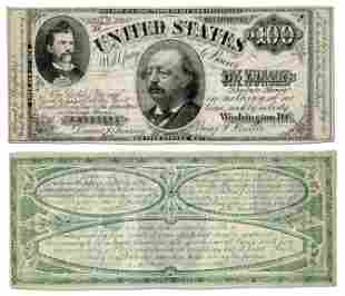 Benjamin Butler & Greenback Party Satirized with