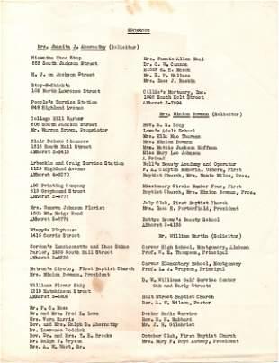 Montgomery Improvement Association Archive