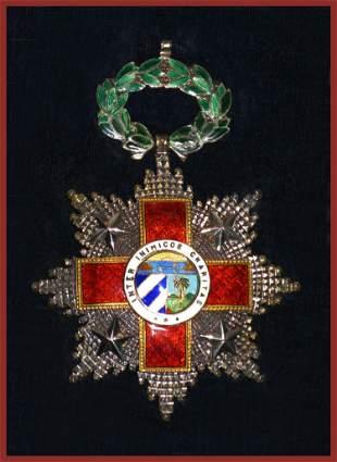 McNamara's Ornate Order of the Cuban Red Cross