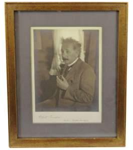 Superb Albert Einstein Photo, Among the Finest Known