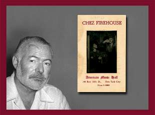 Souvenir Photograph from Chez Firehouse nightclub in