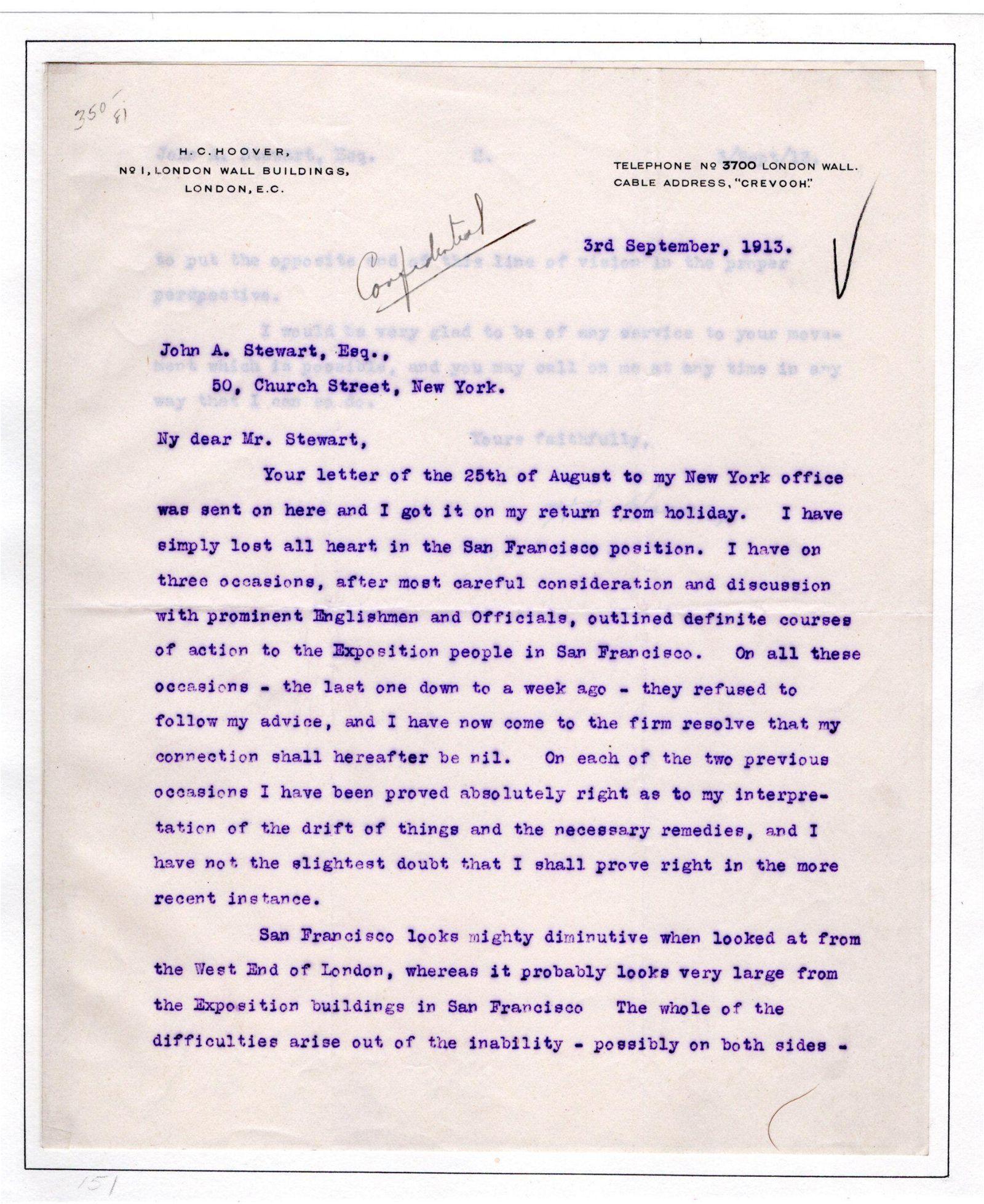 Archive of Five Great Herbert Hoover Items