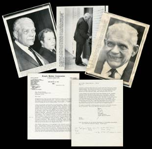 """Clay Shaw JFK Assassination """"the 5th Anniversary of my"""
