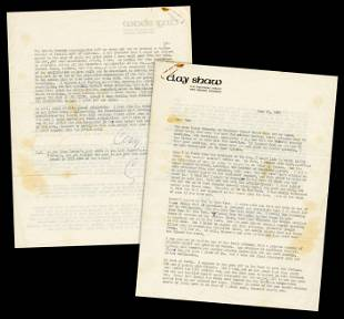 Clay Shaw, Accused of Conspiring to Assassinate JFK,