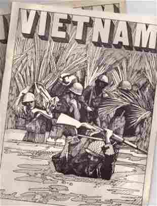 "Two Copies of ""Vietnam"" Graphic Novel"