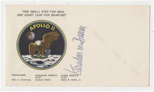 """Wernher Von Braun Signed """"One Small Step ..."""" Apollo 11"""