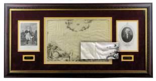 George Washington Signed Soc. of Cincinnati Doc