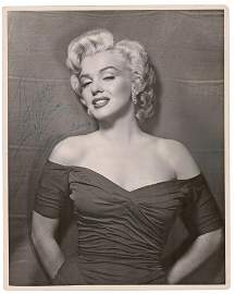 "Marilyn Monroe Signed & Inscribed Portrait ""To Joe"""