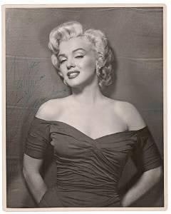 "Marilyn Monroe Signed & Inscribed Portrait ""To Joe"""