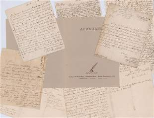 George Townshend Archive of 5 ALS Rev War 18th