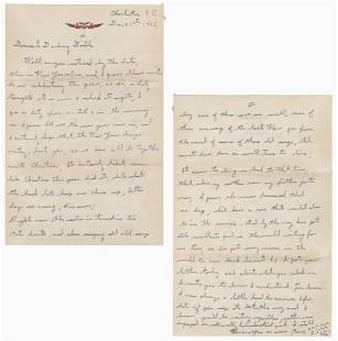 WW II IWO Jimas Renee Gagnon ALS on New Year Eve 1943