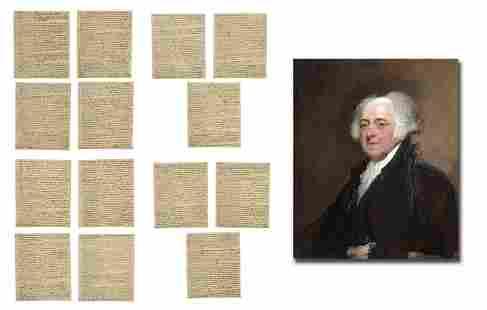 John Adams Lengthy Manifesto Defending American