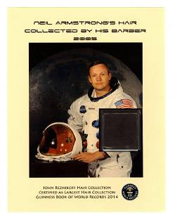 Several Strands of Astronaut Neil Armstrong's Hair,