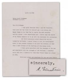 Einstein Among the Most Important Letters in Private