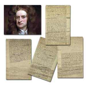 Sir Isaac Newton Highly Important Manuscript on God & C