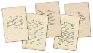 5 Civil War General Orders, Incl. 1 Issued 3 Days After