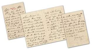 Benjamin Disraeli ALS Containing Wiesbaden Spa Gossip: