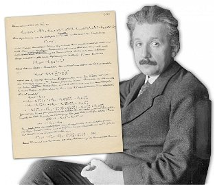 Einstein's Magnificent Equations Forming His Final