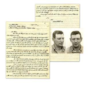"""Robert Stroud, """"Birdman of Alcatraz"""" ALS Re: Ill health"""