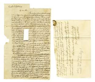 Thomas B. Adams, Youngest Son of John Adams, Writes to
