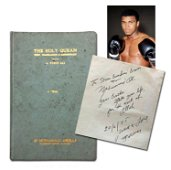Muhammad Ali Signed and Inscribed Copy of The Quran,