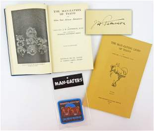 The Man-eaters of Tsavo, Signed by Lieut-Col Patterson,