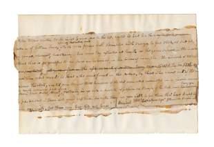 """J. F. Cooper 200+ Word Manuscript Evocative of """"Last of"""