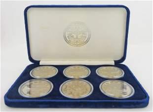 John F. Kennedy Marshall Islands Commemorative $5 6-Pc
