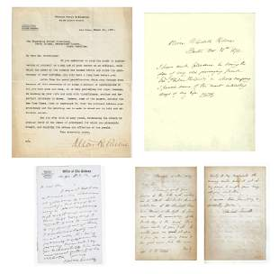 Greeley, Holmes, Parker and Everett, Archive of 4