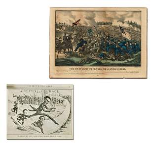 Lincoln's Presidential Race and Battle of Petersburg,