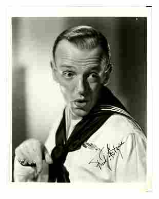Attractive Fred Astaire Signed Studio Photograph,