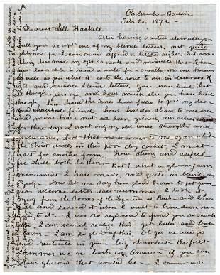 "Clara Barton Writes ""my strength as an American"