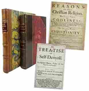 Two 17th Century Books by Puritan Theologian Richard