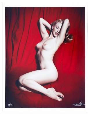 Marilyn Archival Giclée from Red Velvet Session