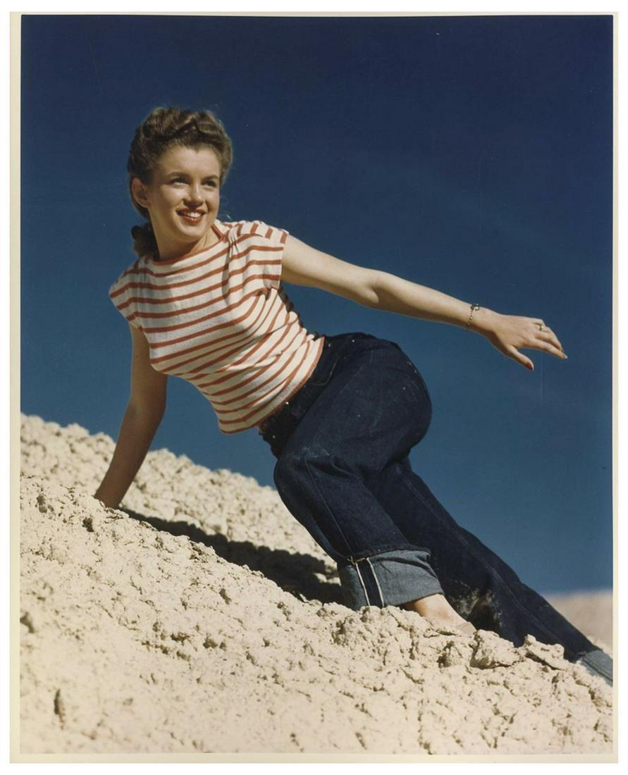 Marilyn Vintage Andres de Dienes Photo