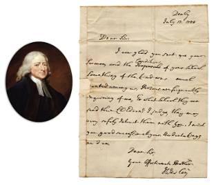 John Wesley ALS to Fellow Methodist Regarding