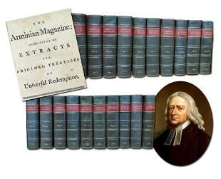 Arminian Magazine 20 Volumes 1778-1797 Complete Set