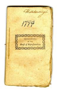 1794 New Hampshire Journal of the House of